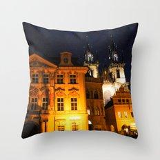 PRAGUE 2 Throw Pillow