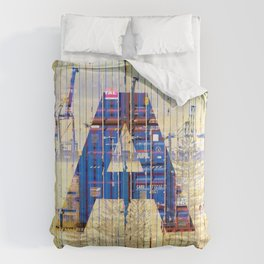 'A' Shed Comforters