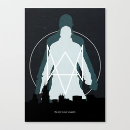 The City is our Weapon Canvas Print