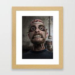 ZipperHead Framed Art Print