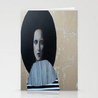 musa Stationery Cards featuring MUSA by Michela Ezekiela Riba