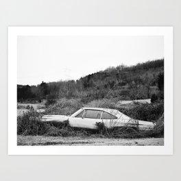 Car - Abandoned Dreams  Art Print