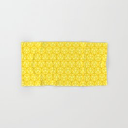 d20 Icosahedron Honeycomb Hand & Bath Towel