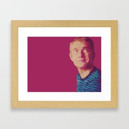 A Study in Pink: John Framed Art Print