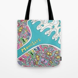 Love Monsters Tote Bag