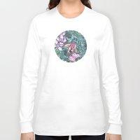 splash Long Sleeve T-shirts featuring Splash by Vikki Salmela