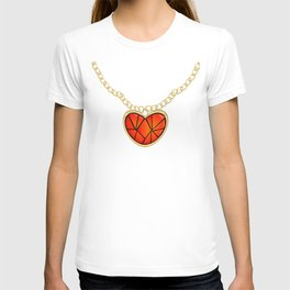 Jeweled Heart Locket T-shirt