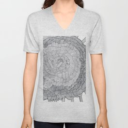 IT CAME FROM THE FRACTAL UNIVERSE! Unisex V-Neck