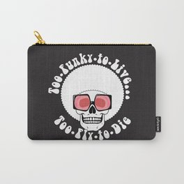 Too Funky Skull Carry-All Pouch