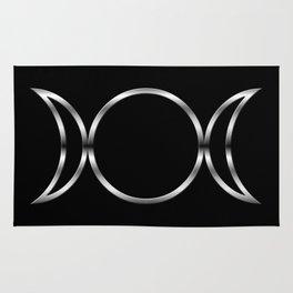 Triple Goddess Symbol Rug