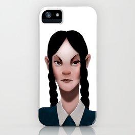 Wednesday Addams iPhone Case