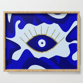 Lava All Seeing Evil Eye Serving Tray