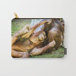 Orangutan Friends, Phoenix Zoo, AZ Carry-All Pouch