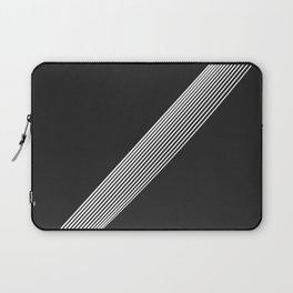 White Stripes. Laptop Sleeve