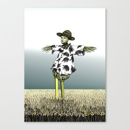 Crow Serie :: Scarecrow Henry Canvas Print