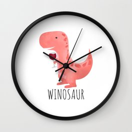 Winosaur Wall Clock