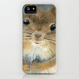 Squirrel Art By Daniel MacGregor iPhone Case