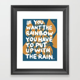 Dolly Knows Framed Art Print