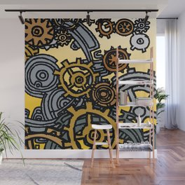 QUARTER TO FOUR Wall Mural