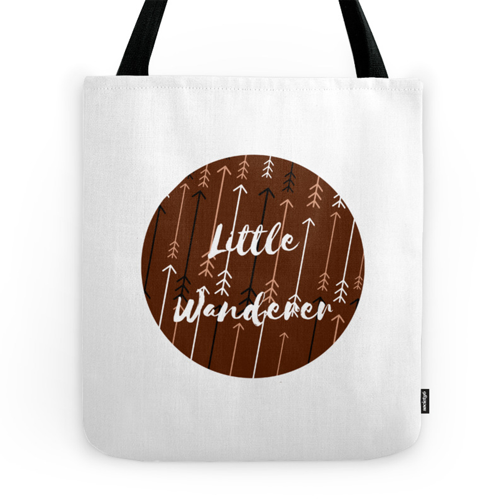 Won't You Wander Back to Me? (Coffee & Cream) Tote Purse by artwithaview (TBG7280881) photo