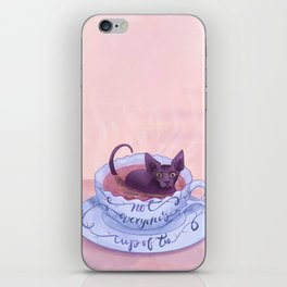 Not Everone's Cup Of Tea - Sphynx Cat - Part 2 iPhone Skin