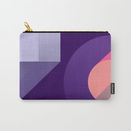 ultraviolet pink abstract geometry Carry-All Pouch