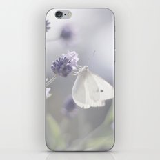 Lavender loving butterfly iPhone & iPod Skin