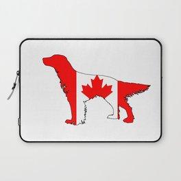 Canada English Setter Laptop Sleeve