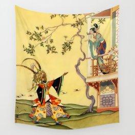 "Folk tale ""1001 Nights"" by Virginia Sterrett Wall Tapestry"