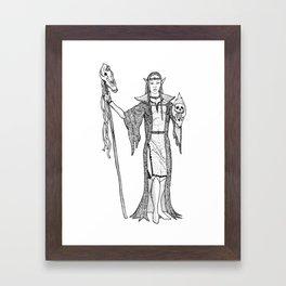 Necromantrix Framed Art Print