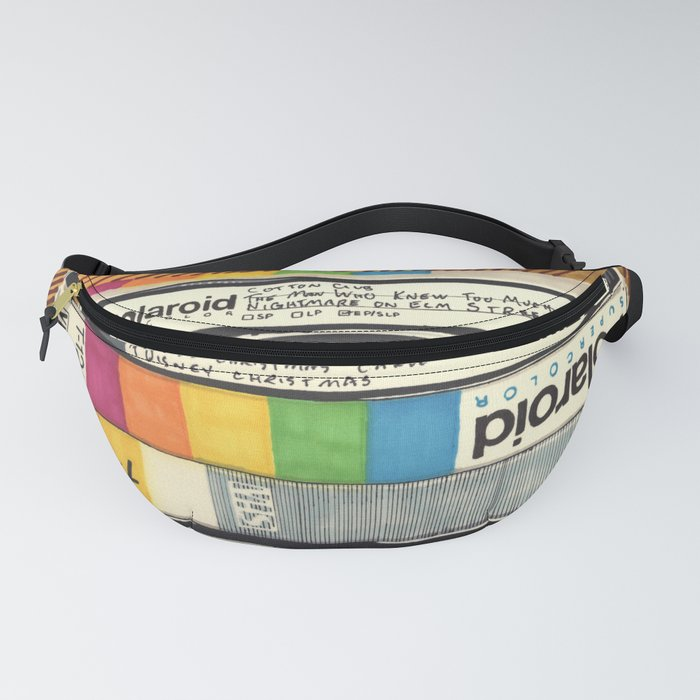 VHS & Wooden Wall Fanny Pack