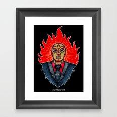 El Mero-Mero Villasenor Framed Art Print