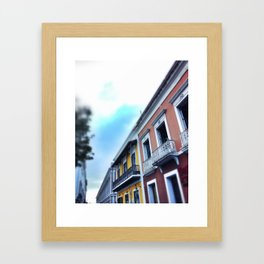 San Juan Street Framed Art Print