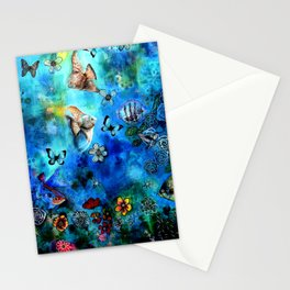 Deepness Stationery Cards