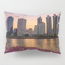 painting of Johannesburg South  Pillow Sham