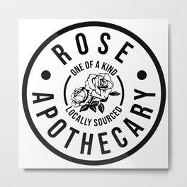 Rose Apothecary. Ew david gift. Rosebud motel Metal Print