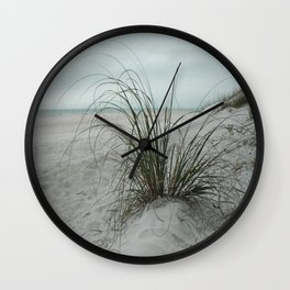 Sea Oats Wall Clock