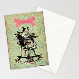 baby cat Stationery Cards