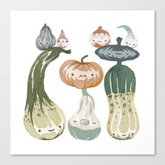 Courges Canvas Print