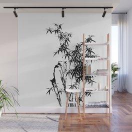 Japanese Ink Bamboo Wall Mural