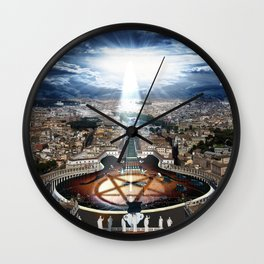 Vatican Rocking View Wall Clock