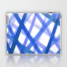 Criss Cross Blue Laptop & iPad Skin