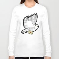 hedwig Long Sleeve T-shirts featuring Hedwig by AriesNamarie