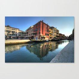 Venitian Gondola's Canvas Print