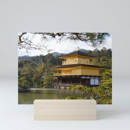 The Golden Pavilion (Kinkaku-ji) Mini Art Print