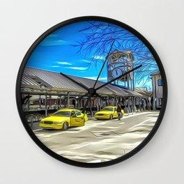 Rosa Parks Transportation Center, Lafayette, Louisiana Wall Clock