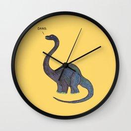 Dang Dino Wall Clock