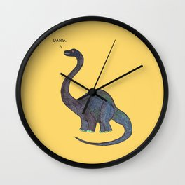 Dang Dino Wall Clock