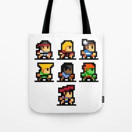 Minimalistic - Street Fighter - Pixel Art Tote Bag