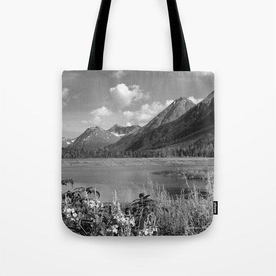 Tern Lake - Mono 2 Tote Bag